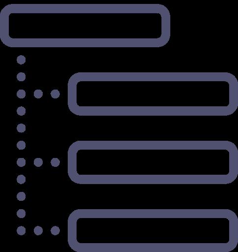 iconfinder 021 layout wireframe grid sitemap structure list thread 365890